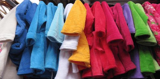 Купить махровые изделия в Херсоне: выбираем халат