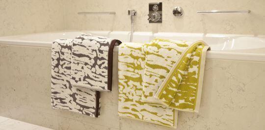 Современные полотенца для ванны: какие они?