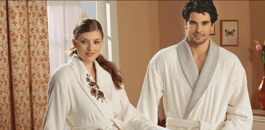 Купить махровые халаты для гостиниц и отелей в Украине от производителя