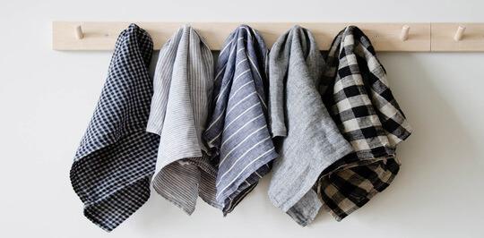 Льняные полотенца для дома: изящество в современной оправе