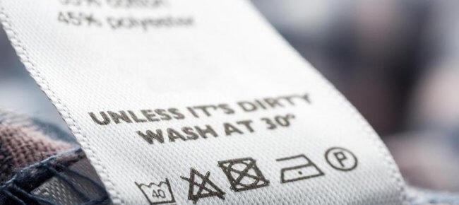 Значение знаков на лейблах изделий из текстиля