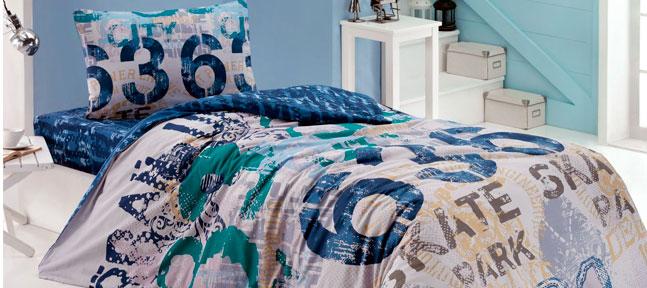 Идеальная комната для подростка. Выбираем постельное, полотенца, одеяла и подушки