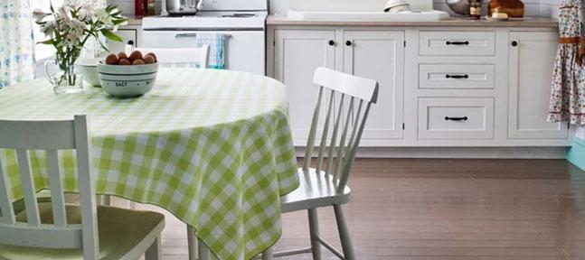 Скатерть для кухни – выбираем с аппетитом
