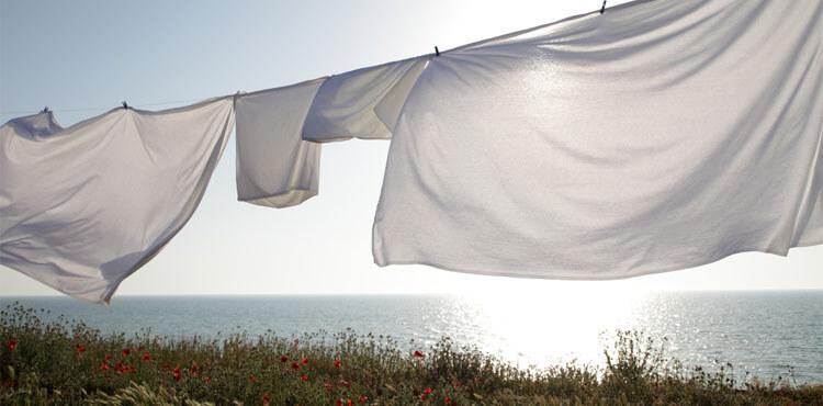 Три правила сушки постельного белья из натуральных тканей