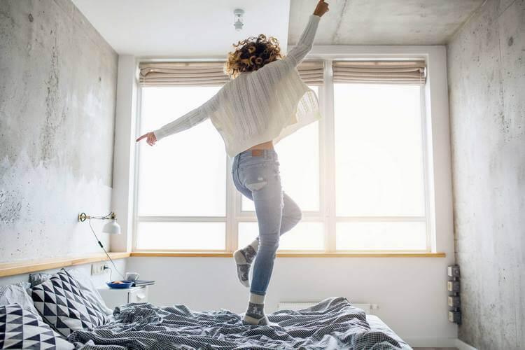 Влияние цвета постельного белья на настроение