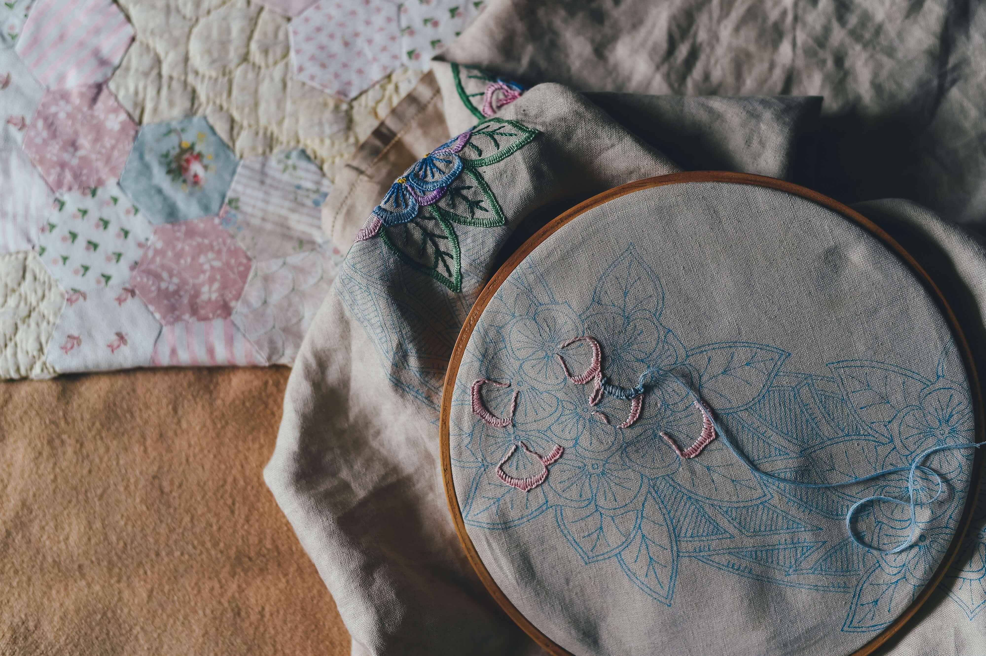 Декор на текстиле. Виды и способы ухода