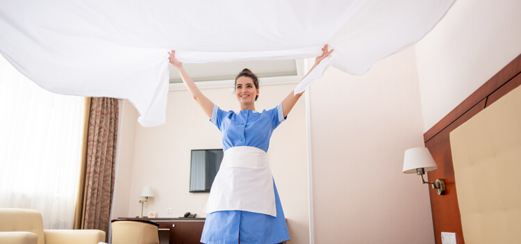 Какое постельное белье используют отели люкс